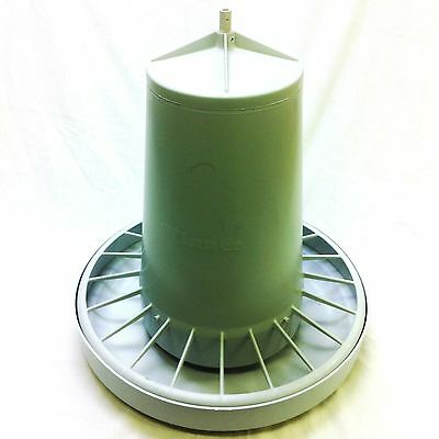"""STURDY 12kg POULTRY FEEDER UV RESISTANT with """"FREE POSTAGE"""" (CHOOK Hen CHICKEN)"""