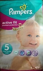 Pampers Active Fit S5 - 4x 21 Couches
