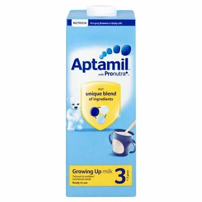 Aptamil Pronutra+ 3 Growing Up Milk 1-2 Years 200ml 1 2 3 6 12 Packs