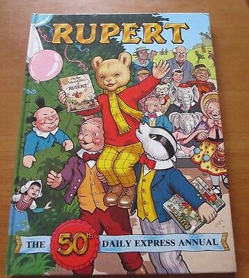Rupert The Bear 1985 The 50th Daily Express Annual - Hardback