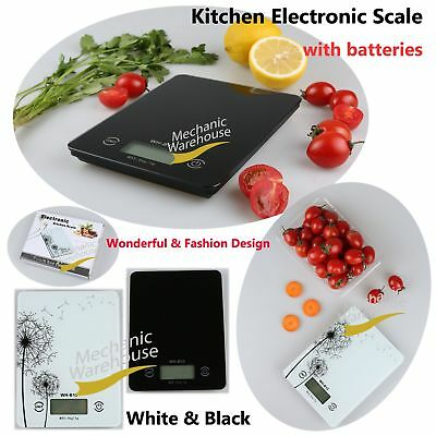 5kg Kitchen Scales Electronic LCD Digital Household Food Cooking Postal Weighing