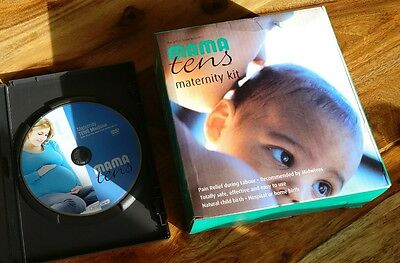 New Unopened Mama Maternity TENS Machine for Labour inc pads batteries dvd etc
