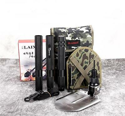 Multi-function Outdoor Folding Shovel Military Tactical Survival Camping Tool