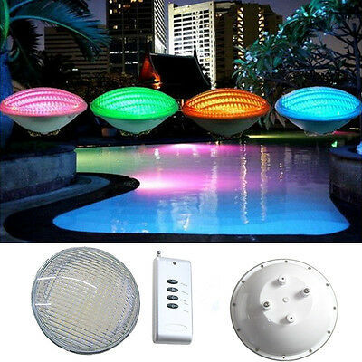 LED 54W Underwater Swimming Pool Light Waterproof RGB With Remote Controller New
