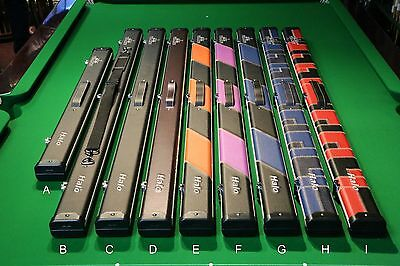 Peradon Halo 3/4 Snooker/Pool Cue Case - Full Range! Chesworth Cues, Sheffield
