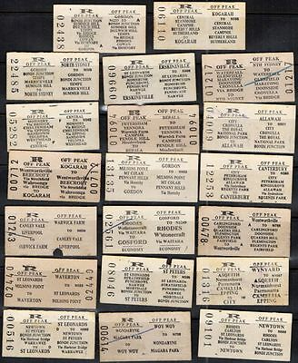 New South Wales 1970 - 1995 White 20 Ticket #464 $20