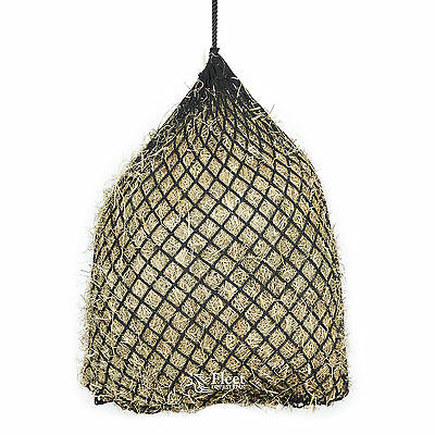 "Shires Soft Mesh Haylage Net - Black 40"" (102cm) - 3 Mesh Sizes"