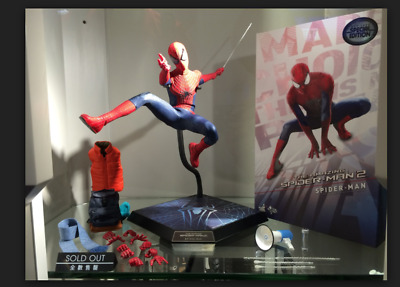 Sale Hot Toys MMS 244 Amazing Spider-Man 2 SpiderMan 1/6 Avengers NEW Peter