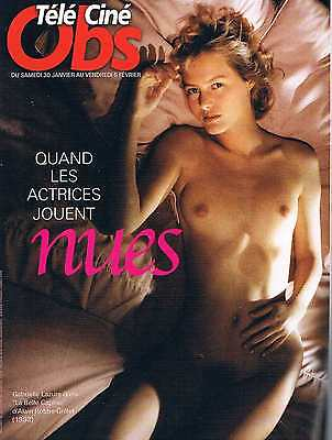 Tele Cine Obs   N°2360   28 Jan 2010 : Quand les actrices jouent nues