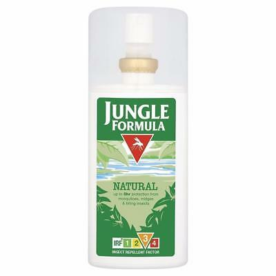 ** JUNGLE FORMULA INSECT REPELLENT NATURAL SPRAY NEW ** 90ml  MOSQUITOS BITES