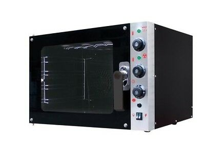 Commercial Convection Oven + Steam Function 4 Trays
