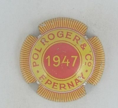 capsule champagne ANCIENNE POL ROGER 1947