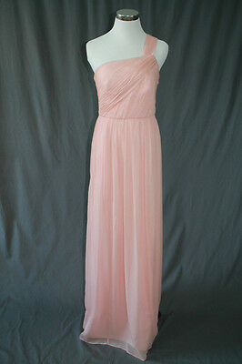 711f7197b5d8 $365 J.Crew Lucienne Long Dress Chiffon Party Misty Rose Pink 4 NWT 76669