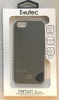 newest 76069 a6075 NEW EVUTEC KARBON S Series Case for Apple iPhone SE iPhone 5 / 5S Free  Shipping!