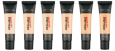 L'Oreal Infallible 24hr Matte Tube Foundation 35ml