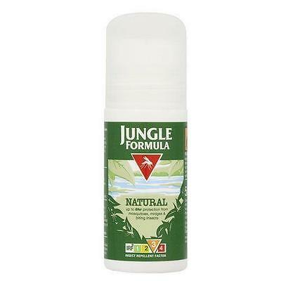 ** JUNGLE FORMULA INSECT REPELLENT NATURAL ROLL ON NEW ** 50ml  MOSQUITOS BITES