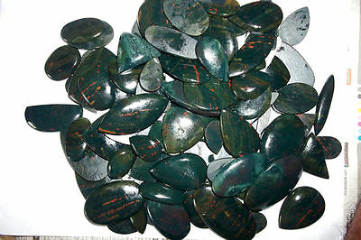 Wholesale Lot 250 Ct 100%Natural Bloodstone Multi Shape Cabochon Loose Gemstone