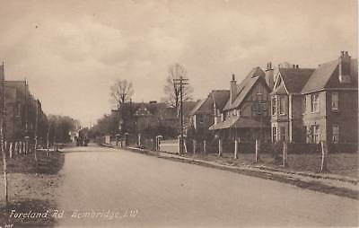 (as47) Wight Bembridge Foreland Road PC