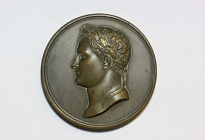 Medal: 1811 Baptism of King of Rome, by Andrieu Fecit, Napoleon II bronze French