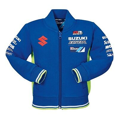Suzuki Genuine 2017 MotoGP Team Jacket Baby Little Child Branded With Logos