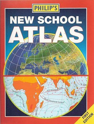 Good, Philip's New School Atlas - First Edition, Unknown, Book