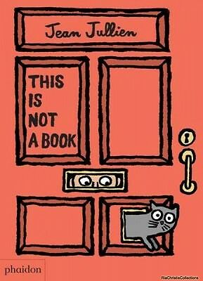 This is Not a Book Jean Jullien Meagan Bennett Board book New Book Free UK Deliv