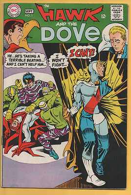 Hawk & Dove #1 DC Comics 1968 Steve Ditko FN/VF