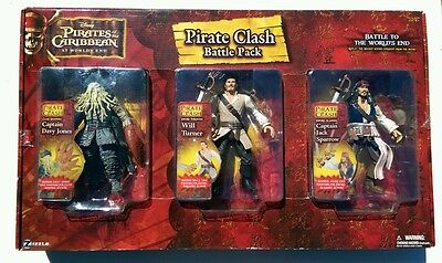 pirates of the caribbean 3 pirate clash battle pack at worlds end figures