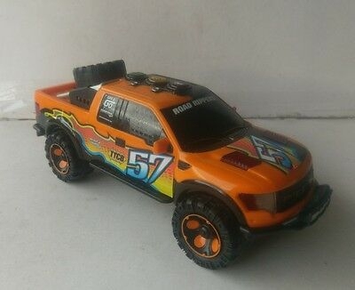 Toy State Road Rippers Ford F150 Raptor Top Tune Come Back Racing Pickup Truck