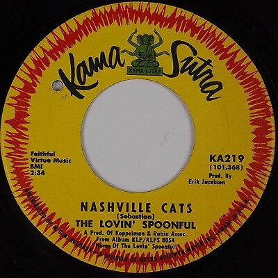 THE LOVIN' SPOONFUL: Nashville Cats / Full Measure KAMA SUTRA 45 NM- Rock