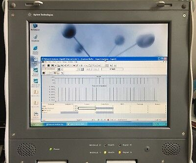 Agilent Network Analyzer Gibabit Ethernet J6800A