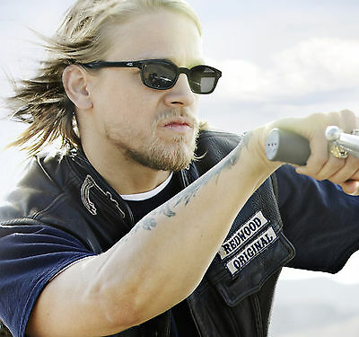 X-KD's 20% Bigger Sons of Anarchy Biker Sunglasses Glasses Harley free shipping
