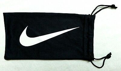 Nike Sunglasses Microfiber Soft Case Pouch Bag Cleaning Cloth Black White Logo