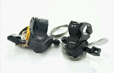Shimano Xt Dyna System Shifters Sl-M780 Pair Of 3X10 Speed Levers /pods New