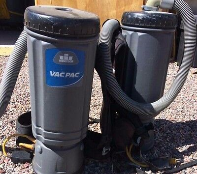 WINDSOR Vac Pac Commercial BACKPack Vacuum Cleaner 2 Available!