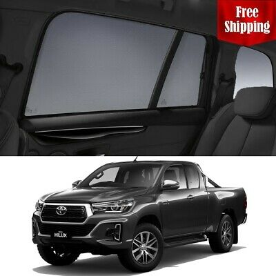 TOYOTA HILUX Double Cab2015 - 2017 Magnetic Rear Window Sun shade