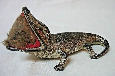 Vintage Occupied Japan Alligator Pin Cushion