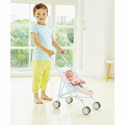New ELC Boys and Girls Cupcake Blue Stroller Toy From 3 years