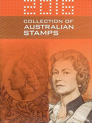 Australia 2016 Collection of Australian Stamps - Book Only - No Stamps