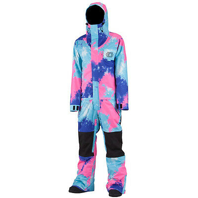 Airblaster Mens One Piece Freedom Suit Tie Dye Ski Snowboard Large