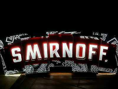 Smirnoff LED Lighted Bar sign New in Box