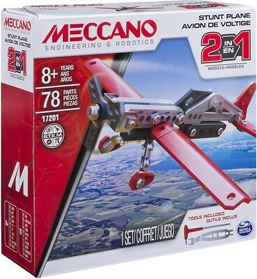 NEW Meccano 2-in-1 Plane from Mr Toys