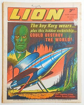 LION Comic - 4th July 1970