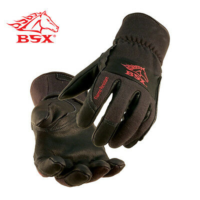 BSX® TIG Welding Gloves - Size Large  Black (Free Shipping Australia Wide)