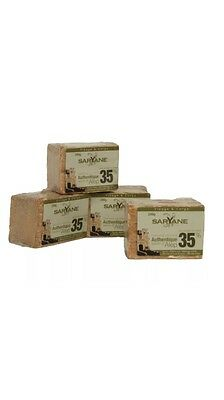 Savon d'Alep traditionnel , 35 % huile de laurier Lot De 6 X 200 G !