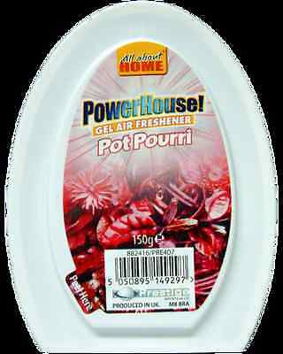 Powerhouse Gel Air Freshener Pot Pourri x 4