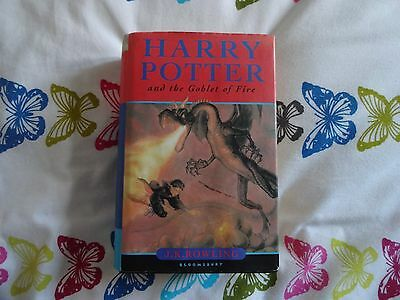 Harry Potter And The Goblet Of Fire / Hardback With Dust Cover / 1St Edition