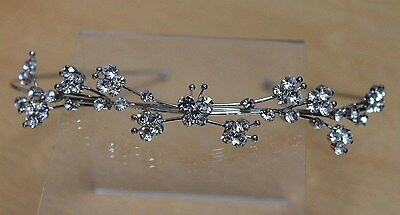 Diamante Butterfly Bridal Hair Band, Headband, Alice Band Bridesmaid