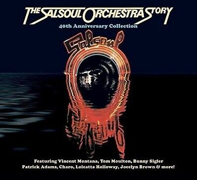 Salsoul Orchestra Salsoul Orchestra Story 40th Anniversary Collecti  3 CD NEW se