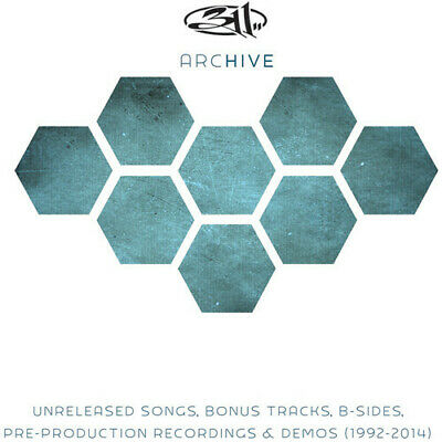311 Archive 4 CD NEW sealed